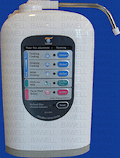 bawell electrolyte ionizer machine