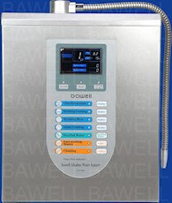 bawell fountain of youth water ionizer machine