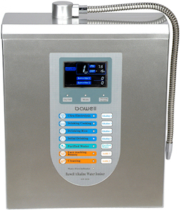 ionized alkalized water filtration systems