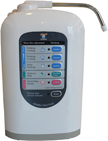 alkalinized ph ionized drinking water filter systems